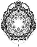 Vector mandala for coloring book Stock Images