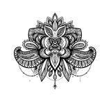 Vector mandala for coloring book Royalty Free Stock Photography