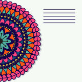 Vector mandala. Decor for your design, lace ornament Royalty Free Stock Images
