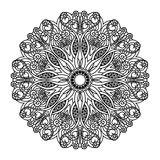 Vector mandala. Ethnic decorative elements. Hand drawn. Background Royalty Free Stock Images