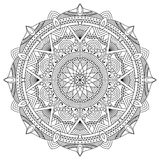 Vector mandala illustration Stock Image
