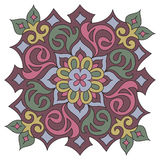 Vector mandala ornament. Pattern. Hand drawn decorative element Royalty Free Stock Image