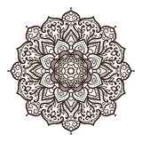 Vector mandala ornament Royalty Free Stock Photo