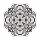 Vector mandala ornament Stock Images