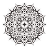 Vector mandala ornament Stock Images