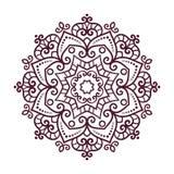 Vector mandala ornament. Royalty Free Stock Photography