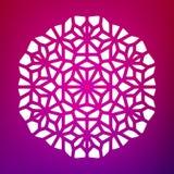 Vector Mandala Ornaments Illustration decorativa Foto de archivo libre de regalías