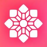 Vector Mandala Ornaments Logo Illustration decorativa Fotografía de archivo libre de regalías