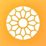 Vector Mandala Ornaments Logo Illustration decorativa Imagen de archivo libre de regalías