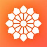 Vector Mandala Ornaments Logo Illustration decorativa Fotografía de archivo
