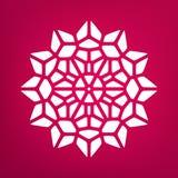 Vector Mandala Ornaments Logo Illustration decorativa Foto de archivo libre de regalías