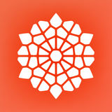 Vector Mandala Ornaments Logo Illustration decorativa Imagenes de archivo