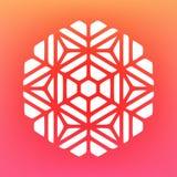 Vector Mandala Ornaments Logo Illustration decorativa Imagen de archivo