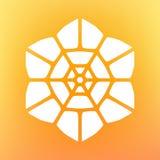 Vector Mandala Ornaments Logo Illustration decorativa Foto de archivo