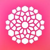Vector Mandala Ornaments Logo Illustration decorativa Fotos de archivo libres de regalías
