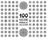 Vector mandala ornaments set Stock Photography