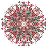 Vector Mandala in pastel colors for backgrounds, logos, Stock Photography