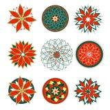 Vector mandala for prints, t-shirts, web Royalty Free Stock Image
