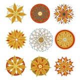 Vector mandala for prints, t-shirts, web Royalty Free Stock Photography