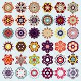 Vector mandala round ornament pattern. Stock Photo