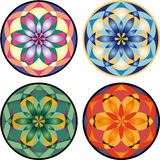 Vector mandala set Royalty Free Stock Photo