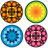 Vector mandala set Royalty Free Stock Photos