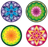 Vector mandala set Stock Photo