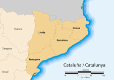 Cataluña Royalty Free Stock Images