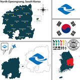 North Gyeongsang Province, South Korea Royalty Free Stock Photo