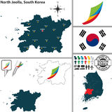 North Jeolla Province, South Korea Royalty Free Stock Photos