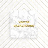 Vector marble background with gold glitter lines. Geometric shapes. Template for your designs, card, invitation, party, birthday,. Wedding, baby shower, save vector illustration