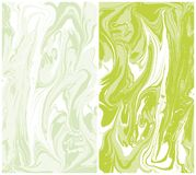 Vector marble texture, background ebru abstract Liquid paint. Vector marble texture, background ebru abstract paint, Liquid paint. Green backgraund. Spring mood vector illustration