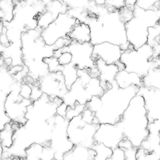 Vector marble texture design seamless pattern, black and white marbling surface, modern luxurious background royalty free illustration