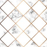 Vector marble texture, seamless pattern design with white squares vector illustration