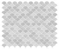 Vector marine green seamless mermaid background with a pattern of fish scales. Mermaid tiles. stock illustration