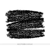 Vector marker hand drawn strokes as design elements. Hand drawn textured background. Crayon strokes in square shape for. Vector marker hand drawn strokes as Royalty Free Stock Photo