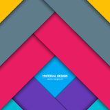 Vector material design background. Abstract creative concept layout template. For web and mobile app, paper art Stock Photos