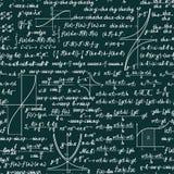 Vector mathematical seamless pattern Royalty Free Stock Photos