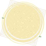 Vector maze Royalty Free Stock Photography
