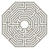 Vector maze Stock Photo