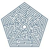 Vector maze Royalty Free Stock Photos