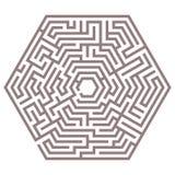 Vector maze Royalty Free Stock Photography