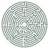 Vector maze Stock Photography