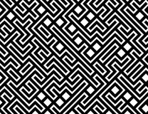 Vector Maze Pattern Background. A background pattern of a simple maze in black and white Royalty Free Stock Photos