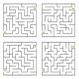 Vector maze Royalty Free Stock Photos