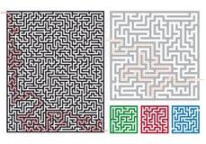 Vector mazes Stock Image