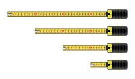 Vector measure tape meter Royalty Free Stock Photo