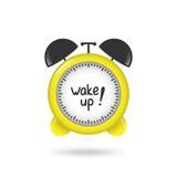 Vector mecánico del despertador Imágenes de archivo libres de regalías