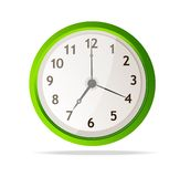 Vector mechanical clock Royalty Free Stock Photo