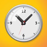 Vector mechanical clock Stock Photos